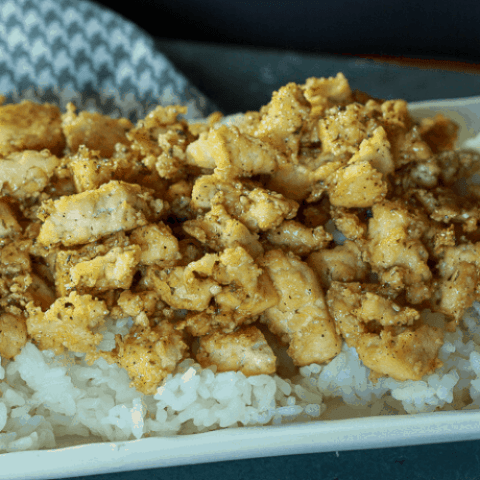 garlic tofu