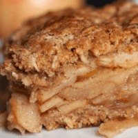Delicious Vegan Apple Crisp