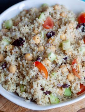 Vegan Greek Quinoa Salad