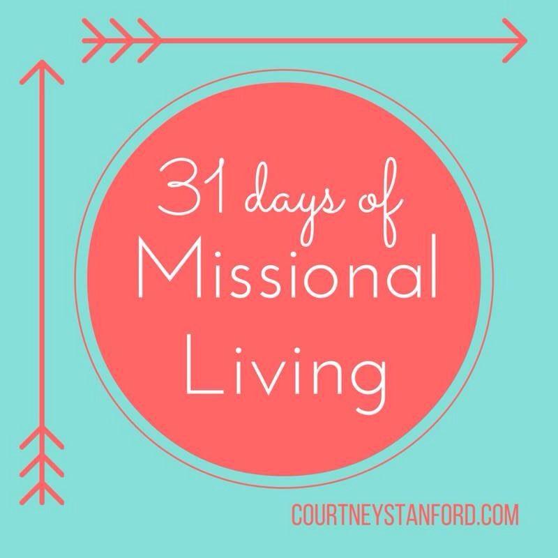 A Missional Monday Morning
