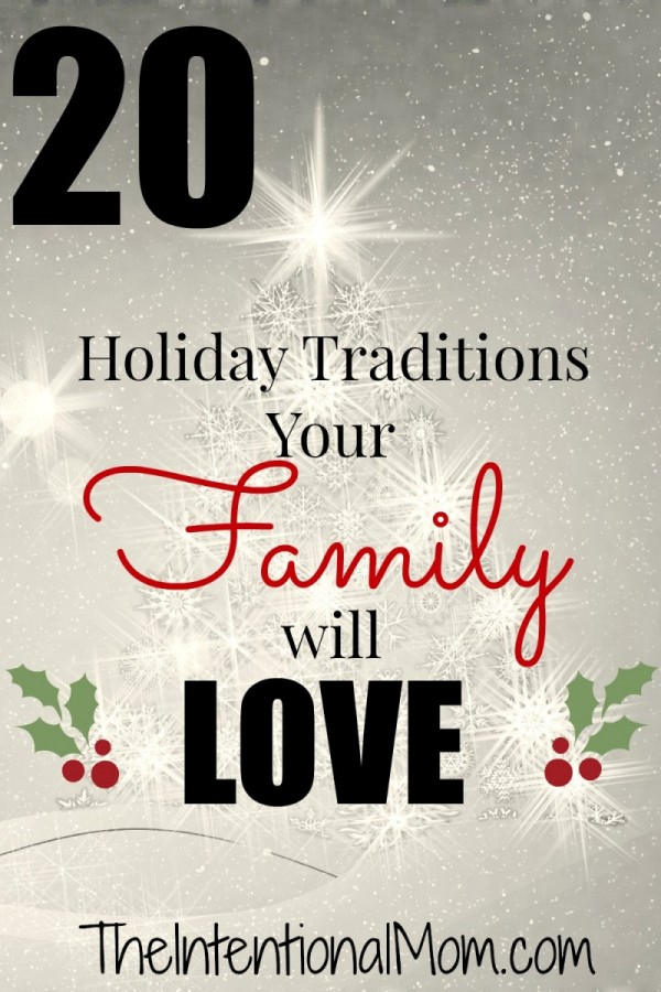 20 Christmas Traditions Your Family Will Love