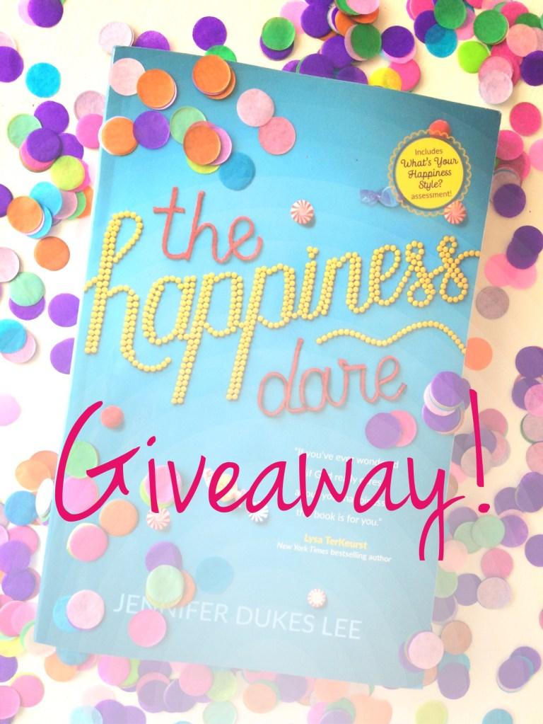 August Giveaway: The Happiness Dare