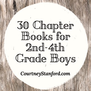 30 Chapter Books for 2nd4th Grade Boys Let Every Heart