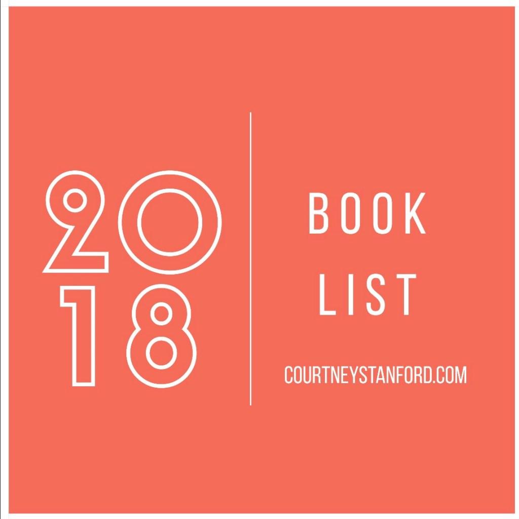 My 2018 Book List