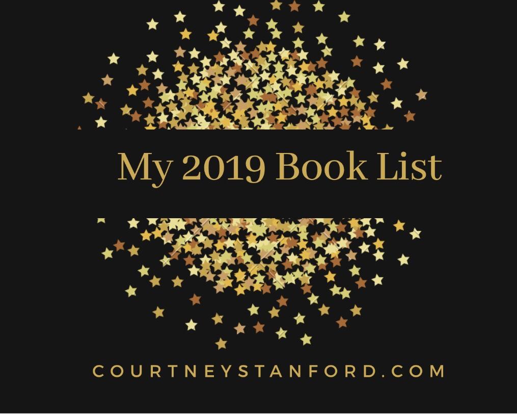 My 2019 Book List