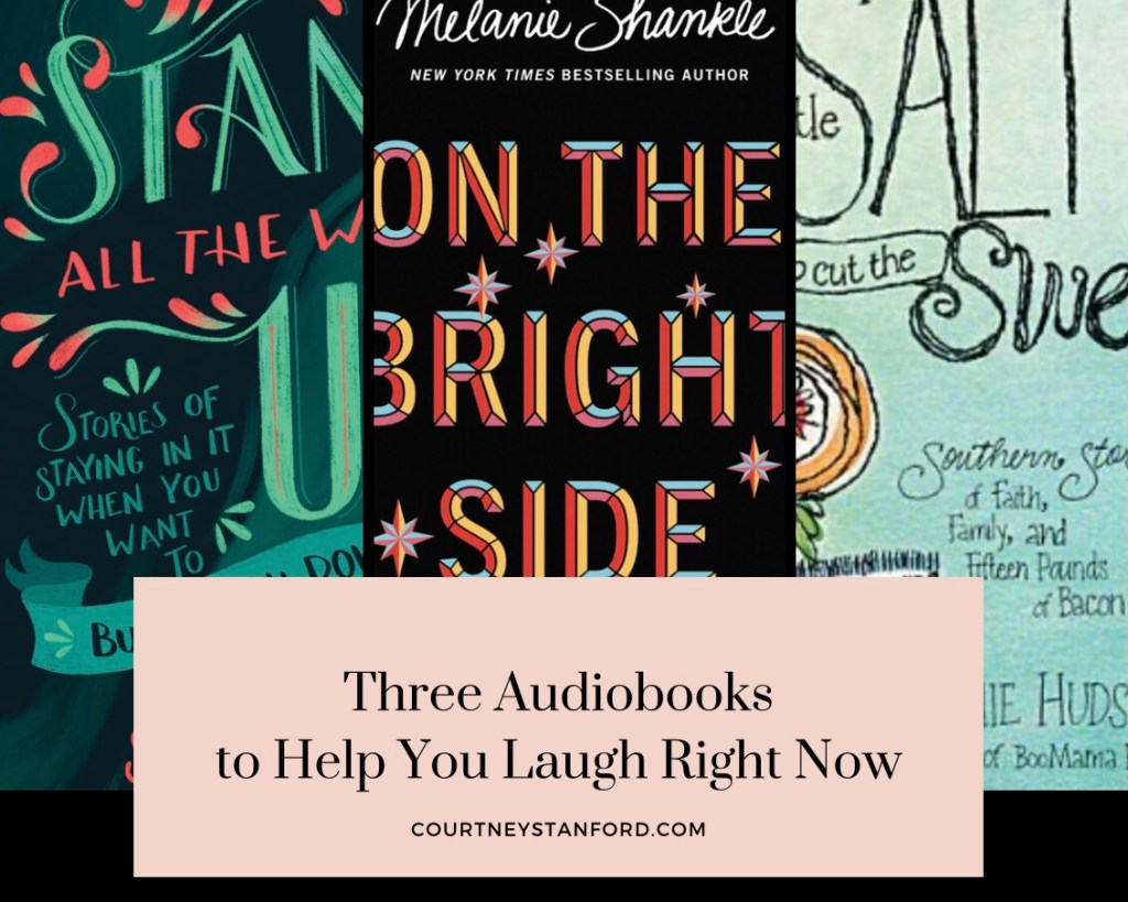 Three Audiobooks to Help You Laugh Right Now