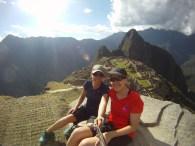 GoPro Machu Picchu selfie.