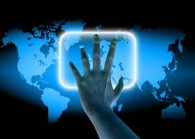 Security screening of hand