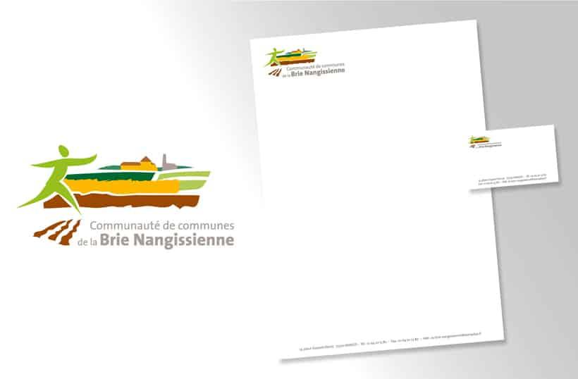 papeterie logo branding