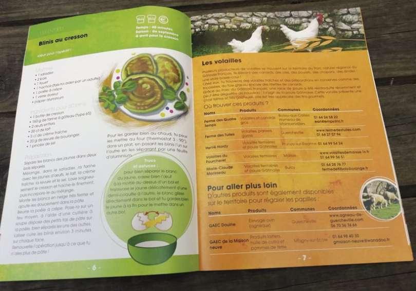 livret de recettes du parc naturel régional du gâtinais français