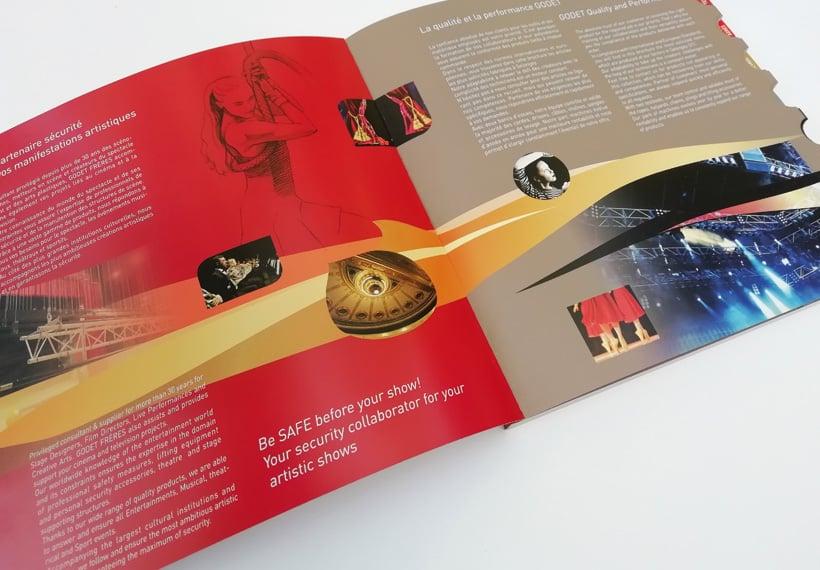 catalogue scène et spectacle Godet