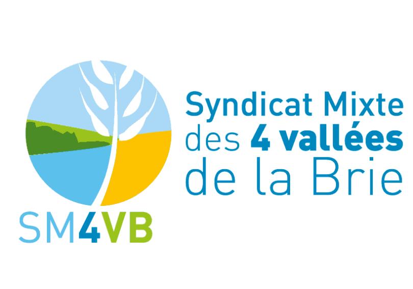 étude de logo syndicat mixte des 4 vallées de la Brie