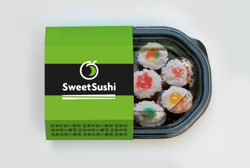 sweet sushi, emballage de sushis