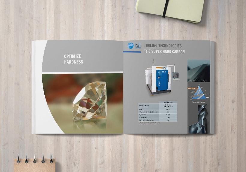 brochure bilingue société pd2i, technologies