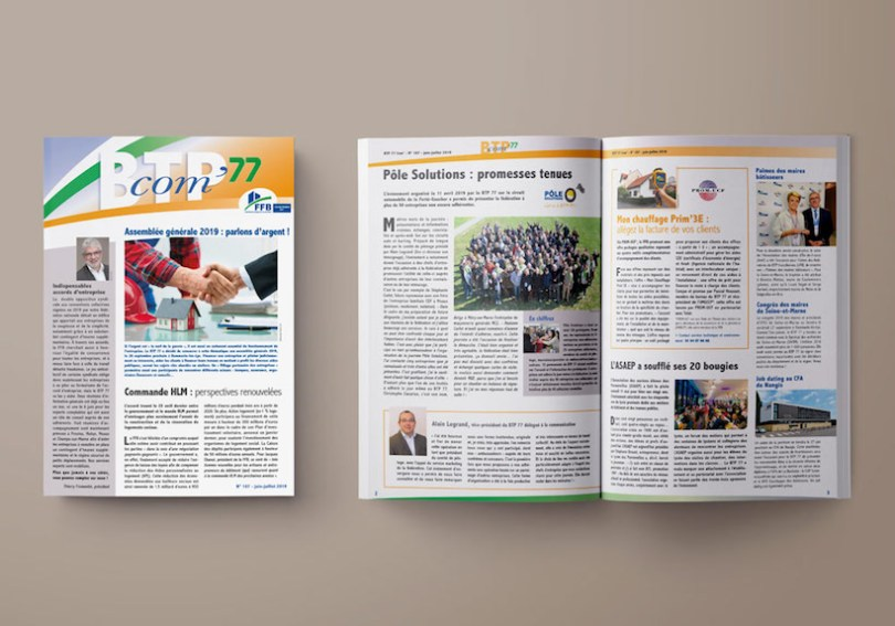 journaux BTP com, BTP 77