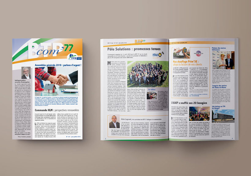 journaux BTP 77, Fédération française du bâtiment