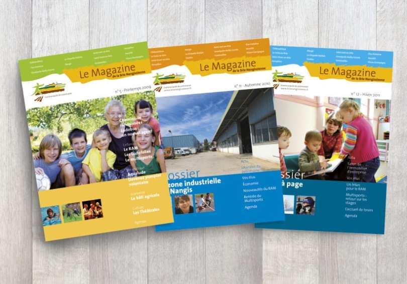 charte graphique magazine de la brie nangissienne