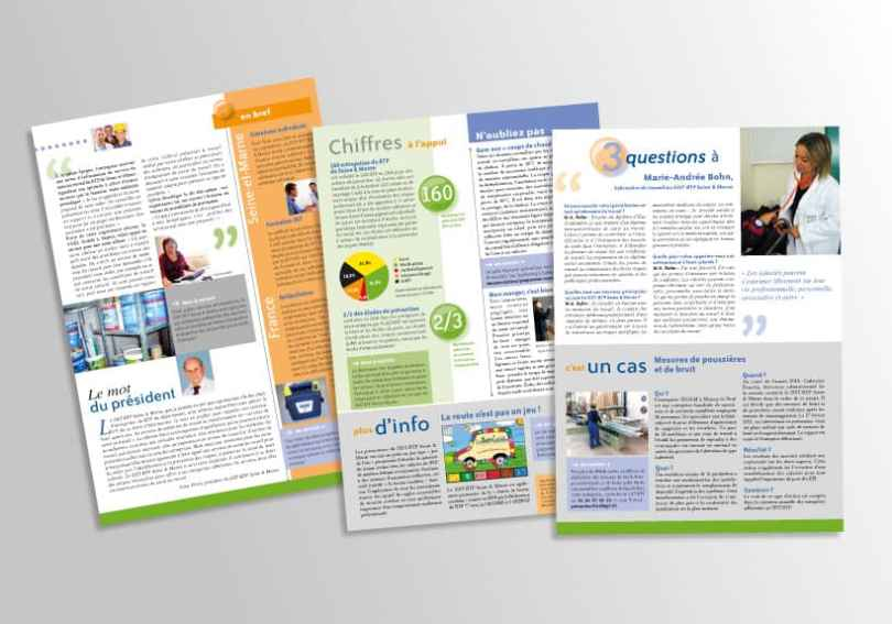 Objectif santé au travail : la lettre du sist-btp en seine-et-Marne