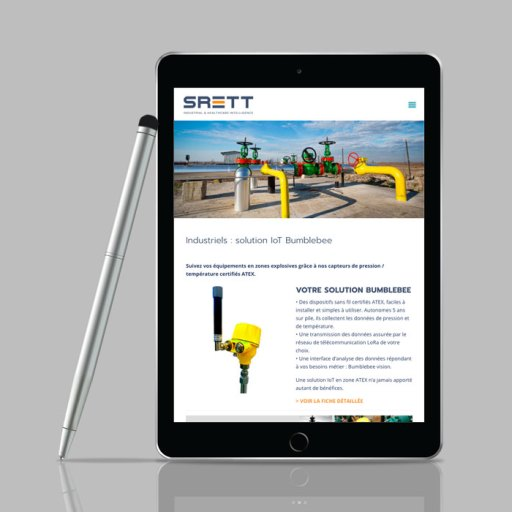 Ipad site srett