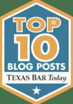 Top 10 blog posts logo