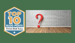 Texas Bar Today Top 10 Blog