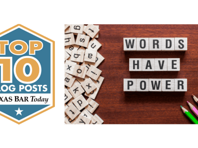 Words Have Power Top Ten Blog