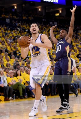 <> at ORACLE Arena on April 18, 2015 in Oakland, California.