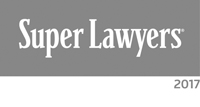 Logo for Super Lawyers, part of Thomson Reuters, a research-driven rating service of outstanding lawyers. Richard A. Klass selected to the 2017 New York Metro Super Lawyers list.
