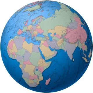 Globe-africa-countries