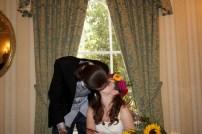 A married kiss
