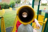 Down the Telescope