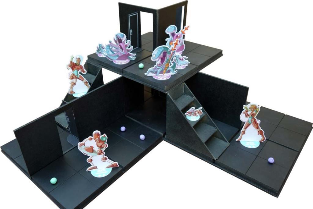 plateau de jeu 2 niveaux