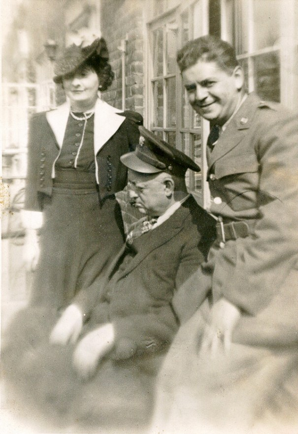 Herbert Landes is on right (via Joel Landes)