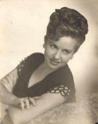 Vivian Klein Berman, about 1944 (via Shari Berman Landes)