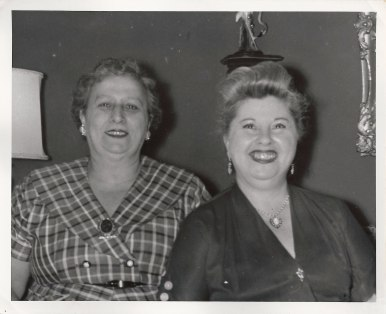 Anna Neckameyer Berman, Lillian Herman Klein (via Shari Berman Landes)