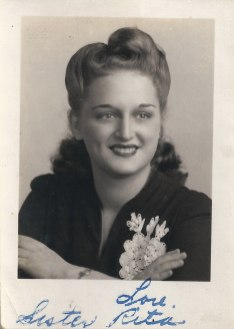 Rita Berman Abrams, 1944 (via Shari Berman Landes)