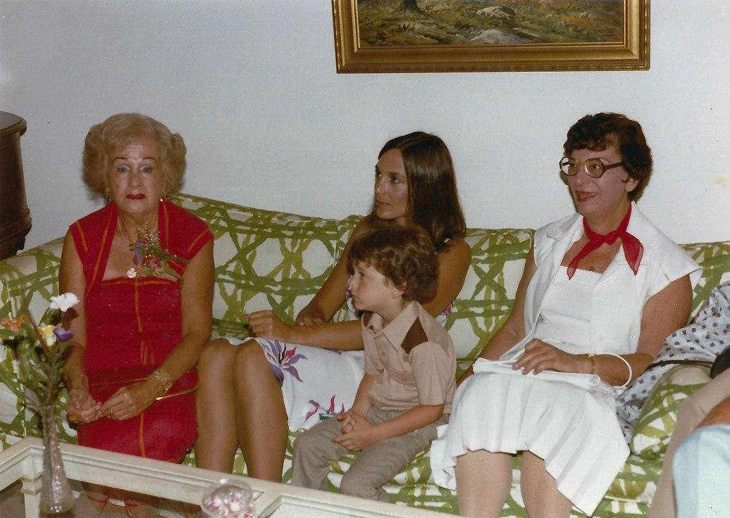 Marcia Kerstman Landes, Karen Epstein Weston, Edith Landes, Harlan Landes
