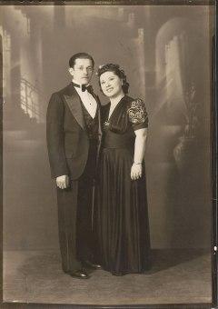 Jack Klein, Lillian Herman Klein (via Shari Berman Landes)
