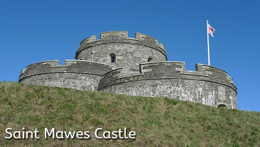 Photo of Saint Mawes Castle in Cornwall, England