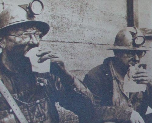 Coal Miners Eating Pasties