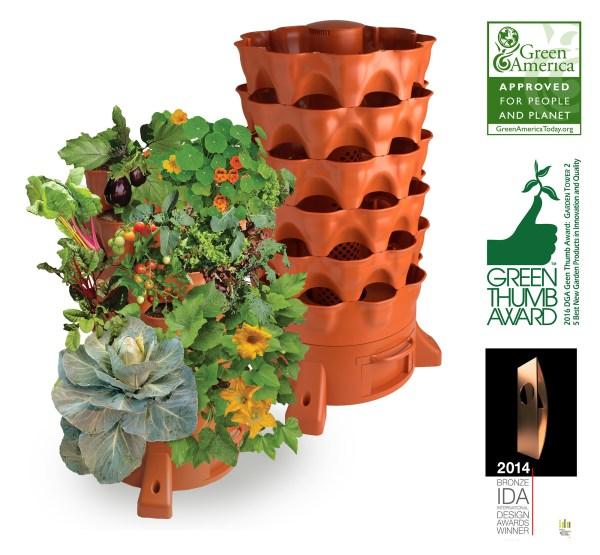garden tower vertical garden planter