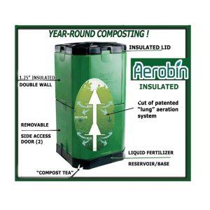 aerobin insulated compost bins