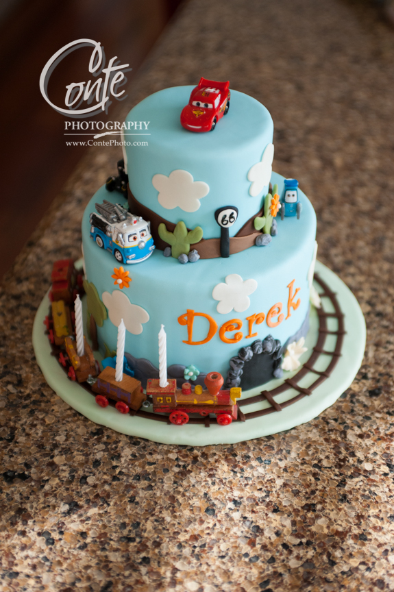 Derek S 3rd Birthday Cake The Couture Cakery