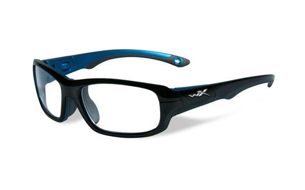 gamer gloss black metalic blue