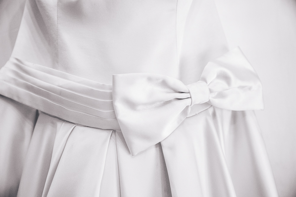 Wedding Dress Bow