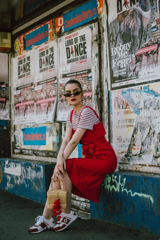 How to layer dresses for spring, red dress, zara tshirt, gucci sneakers, straw bag, micro sunglasses, andreea birsan, couturezilla, cute outfits 2018, midi trench inspired cotton dress, midi dress in red, white shirt and floral midi dress, how to layer dresses like a pro, best dresses for spring 2018, floral print dress, striped t-shirt, tee, organic cotton tshirt, zara tshirts, asos micro sunglasses, red cat eye sunglasses, white oval sunglasses, peonies, straw bags, pom pom bags, straw bag, raffia bag, basket bag trend, red pom pom bag, gucci sneakers in white, white and red gucci sneakers, how to wear a dress with sneakers, gucci ace heart embroidered sneakers, pearl embellished red sandals, dress over skirt, midi striped skirt, green gucci dionysus inspired bag, green shoulder bag, chloe drew bag in red, red chloe drew bag, red suede slingback kitten heels, the best way to layer dresses, how to layer dresses this spring, statement earrings, straw hat, straw hat and dresses for spring and summer, cute outfit ideas 2018, how to look Parisian chic, European summer street style inspiration for women 2017, pinterest chic outfit ideas for woman, summer outfit ideas, summer ootd inspiration, outfit of the day, ootd, fashion icon, style inspiration, fashionista, fashion inspiration, style inspo, what to wear in summer, how to look French, chic on a budget, zara outfit, mango, topshop, asos, river island, forever 21, urban outfitters, how to mix high end pieces with luxury ones, zara and Gucci,outfit alternatives for summer, tomboy chic, minimal outfit, tumblr girls photos, pictures, happy girl, women, smart casual outfits, the best outfit ideas 2017, what to wear when you don't feel inspired, summer in Europe, weekend attire, uniform, French women in summer, European outfit ideas 2017, minimal chic outfit, how to stand out, the best outfit ideas for summer, the sunglasses you have seen everywhere on Instagram, glasses, uk fashion blogger, united kingdom, uk fashion blog, fashion and travel blog, Europe, women with style, street style, summer fashion trends 2017, best fashion ideas, styling, fall fashion, fall outfit, fall ootd, fall perfect, transitional dressing, best transitional outfit ideas, how to wear statement earrings, dressing for autumn, autumn outfit, winter outfit ideas for work and school 2017