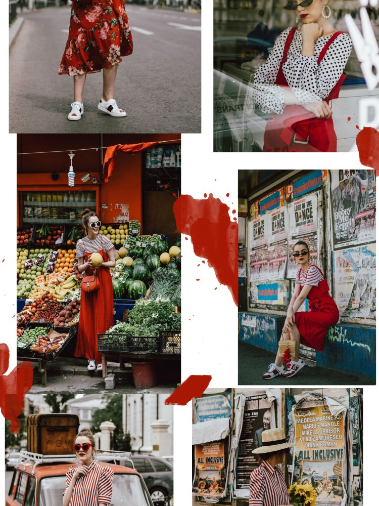 How to layer dresses for spring, red dress, zara tshirt, gucci sneakers, straw bag, micro sunglasses, andreea birsan, couturezilla, cute outfits 2018, midi trench inspired cotton dress, midi dress in red, white shirt and floral midi dress, how to layer dresses like a pro, best dresses for spring 2018, floral print dress, striped t-shirt, tee, organic cotton tshirt, zara tshirts, asos micro sunglasses, red cat eye sunglasses, white oval sunglasses, peonies, straw bags, pom pom bags, straw bag, raffia bag, basket bag trend, red pom pom bag, gucci sneakers in white, white and red gucci sneakers, how to wear a dress with sneakers, gucci ace heart embroidered sneakers, pearl embellished red sandals, dress over skirt, midi striped skirt, green gucci dionysus inspired bag, green shoulder bag, chloe drew bag in red, red chloe drew bag, red suede slingback kitten heels, the best way to layer dresses, how to layer dresses this spring, statement earrings, straw hat, straw hat and dresses for spring and summer, cute outfit ideas 2018, how to look Parisian chic, European summer street style inspiration for women 2017, pinterest chic outfit ideas for woman, summer outfit ideas, summer ootd inspiration, outfit of the day, ootd, fashion icon, style inspiration, fashionista, fashion inspiration, style inspo, what to wear in summer, how to look French, chic on a budget, zara outfit, mango, topshop, asos, river island, forever 21, urban outfitters, how to mix high end pieces with luxury ones, zara and Gucci,outfit alternatives for summer, tomboy chic, minimal outfit, tumblr girls photos, pictures, happy girl, women, smart casual outfits, the best outfit ideas 2017, what to wear when you don't feel inspired, summer in Europe, weekend attire, uniform, French women in summer, European outfit ideas 2017, minimal chic outfit, how to stand out, the best outfit ideas for summer, the sunglasses you have seen everywhere on Instagram, glasses, uk fashion blogger, united kingdom, uk fashion blog