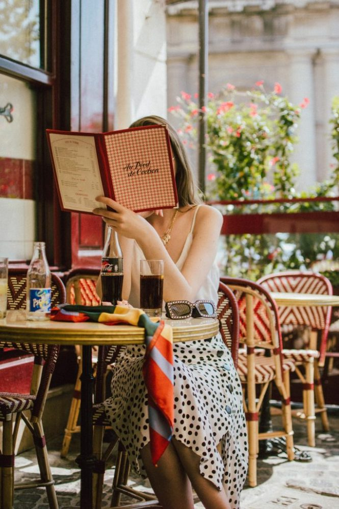 Zara polka dot skirt, white cami top, gucci ace heart sneakers, cherry pom pom straw summer bag, paris, andreea birsan, couturezilla, cute summer outfit ideas 2018, polka dot midi skirt, spaghetti straps white camisole top, mango white, white and black midi skirt, the zara sold out polka dot skirt, basic white cami top, how to wear a midi skirt, what to wear with a midi polka dot skirt, how to style a polka dot skirt, how to wear a polka dot skirt, gucci trainers, gucci ace heart embroidered sneakers, white trainers, heart embroidery, white leather shoes, parisian cafe, skirt and sneakers, shell accessories, shell necklaces, gold layered necklaces, gucci inspired embellished square sunglasses, 90s sunglasses, black sunglasses, printed silk scarf, clear lens aviator glasses, zara glasses, the geeky glasses trend, the clear lens glasses trend you've seen on instagram, popular glasses, gucci 90s inspired square embellished sunglasses with rhinestones, pom pom summer bag, straw bag, asos sold out summer bag, raffia tote bag, statement summer bag, how to look Parisian chic, European summer street style inspiration for women 2017, pinterest chic outfit ideas for woman, summer outfit ideas, summer ootd inspiration, outfit of the day, ootd, fashion icon, style inspiration, fashionista, fashion inspiration, style inspo, what to wear in summer, how to look French, chic on a budget, zara outfit, mango, topshop, asos, river island, forever 21, urban outfitters, how to mix high end pieces with luxury ones, zara and Gucci,outfit alternatives for summer, tomboy chic, minimal outfit, tumblr girls photos, pictures, happy girl, women, smart casual outfits, the best outfit ideas 2017, what to wear when you don't feel inspired, summer in Europe, weekend attire, uniform, French women in summer, European outfit ideas 2017, minimal chic outfit, how to stand out, the best outfit ideas for summer, the sunglasses you have seen everywhere on Instagram, glasses, uk fashion blogger, united king