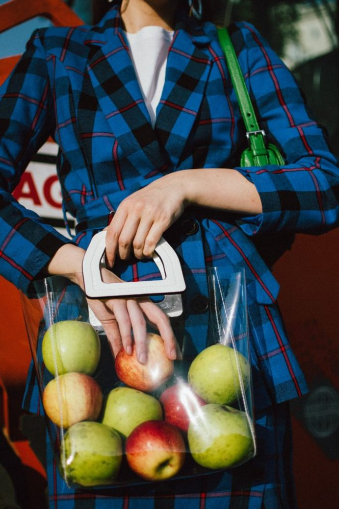Blue check printed suit, white heels, prada green bag, viny bag, cat eye sunglasses, andreea birsan, couturezilla, cute fall outfit ideas 2018, boohoo blue belted blazer, double breasted blue blazer, woven check print co-ord set, fall outfit ideas 2018, checked suit for women, blue check printed two piece suit set for women, blue check printed mini skirt with buttons, blue mini wrap skirt, blue set for women, blue suit for women, skirt and blazer outfit ideas for fall, white leather pumps, white leather block heel shoes, musette shoes, genuine leather shoes, green prada saffiano leather shoulder bag with studs and stones, statement prada bag, green and blue outfit, green leather prada bag, statement prada bag, shoulder bag, prada bags, saffiano leather, unscratchable leather, black cat eye sunglasses, cat eye sunnies, cat eye glasses, retro outfit, vinyl tote bag, staud inspired vinyl bag, see through bag trend, mango see through bag, mango mini vinyl tote bag, the vinyl bag trend, how to wear a clear bag, clear bag trend, acrylic earrings, statement earrings, where to find the best earrings, clear earrings, accessories, mango white t-shirt, best belted blazers, boohoo business suit, business inspired outfit, smart business look, how to dress for a corporate job, business outfit, blue and green outfit for fall, autumn outfit 2018, checkered suit, check printed suit,  how to look Parisian chic, European summer street style inspiration for women 2017, pinterest chic outfit ideas for woman, summer outfit ideas, summer ootd inspiration, outfit of the day, ootd, fashion icon, style inspiration, fashionista, fashion inspiration, style inspo, what to wear in summer, how to look French, chic on a budget, zara outfit, mango, topshop, asos, river island, forever 21, urban outfitters, how to mix high end pieces with luxury ones, zara and Gucci,outfit alternatives for summer, tomboy chic, minimal outfit, tumblr girls photos, pictures, happy girl, women, smart casual outfits, th