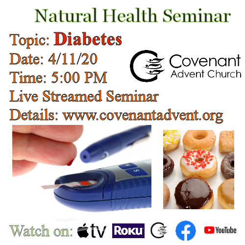 Natural Health Seminar Diabetes